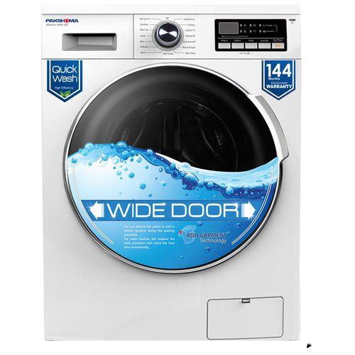 ماشین لباسشویی پاکشوما مدل WFU-80412 با ظرفیت 8 کیلوگرم