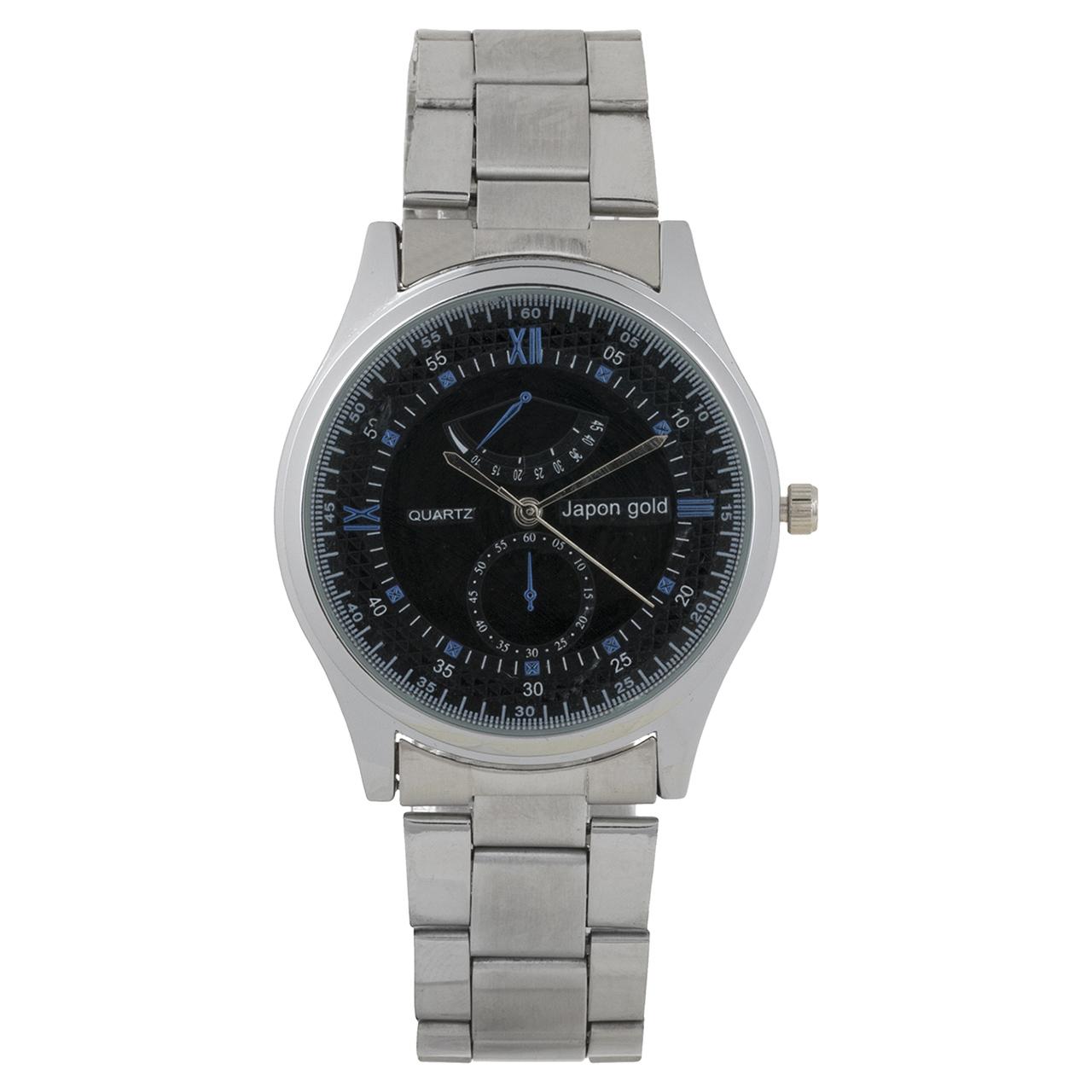 ساعت مچی عقربه ای ژاپن گلد مدل M011