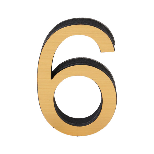 عدد پلاک طرح انگلیسی 6