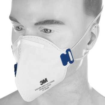 ماسک تنفسی 3M کد 0086 بسته 12 عددی