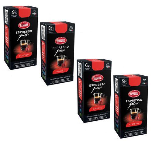 کپسول قهوه اسپرسو پالومبینی مدل Classic بسته 40 عددی