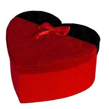 جعبه هدیه طرح قلب مدل 612