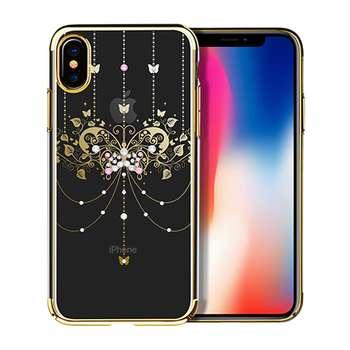 کاور هوکو مدل Diamond Butterfly مناسب برای گوشی موبایل آیفون X