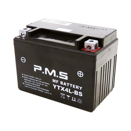 باتری موتور سیکلت پی ام اس مدل 12V4Ah مناسب برای ویو و طرح ویو