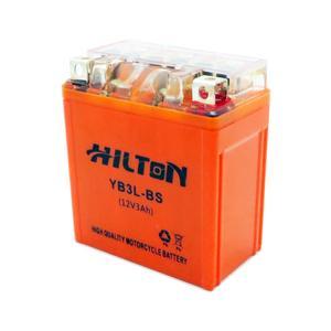 باتری موتور سیکلت هیلتون مدل 12V3Ah مناسب برای طرح هندا 125