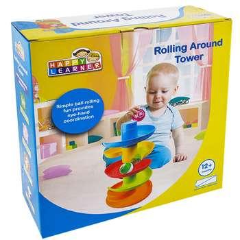 بازی آموزشی هپی لرنر مدل  Rolling Around Tower