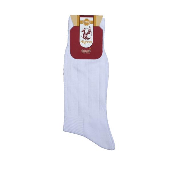 جوراب مردانه نانو آنتی باکتریال هاینو مدل 08-1072