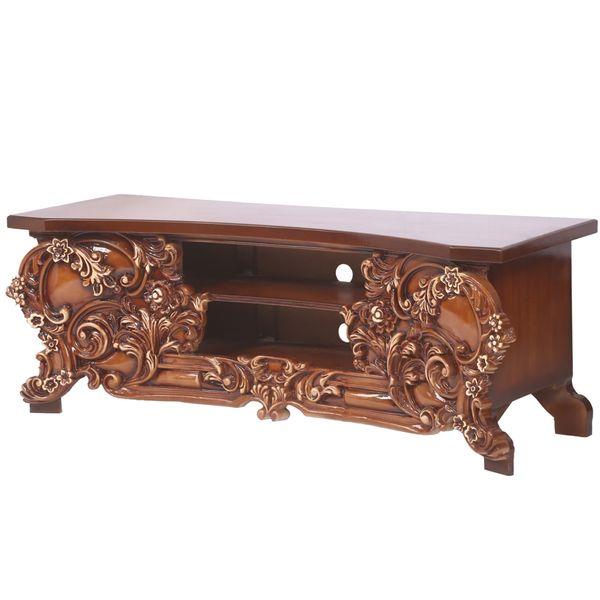 میز تلویزیون طرح سلطنتی  
