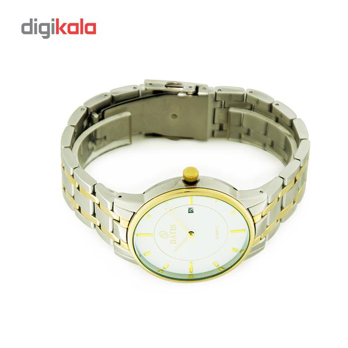 خرید ساعت مچی عقربه ای مردانه داتیس مدل D8222g