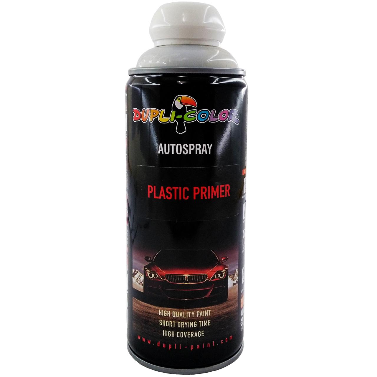 اسپری رنگ آستر دوپلی کالر مدل Plastic Primer حجم 400 میلی لیتری