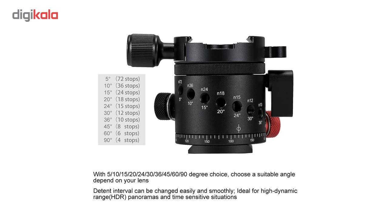 سر سه پایه بال هد پلوز مدل 360Degree مناسب برای دوربین های عکاسی main 1 6