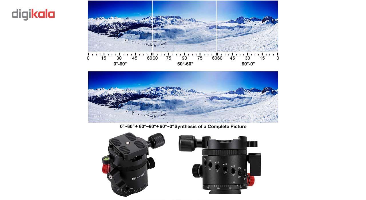 سر سه پایه بال هد پلوز مدل 360Degree مناسب برای دوربین های عکاسی main 1 9