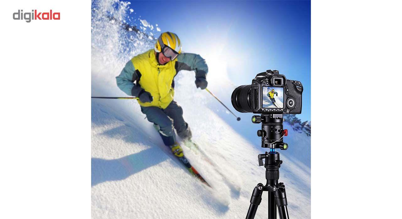 سر سه پایه بال هد پلوز مدل 360Degree مناسب برای دوربین های عکاسی main 1 10