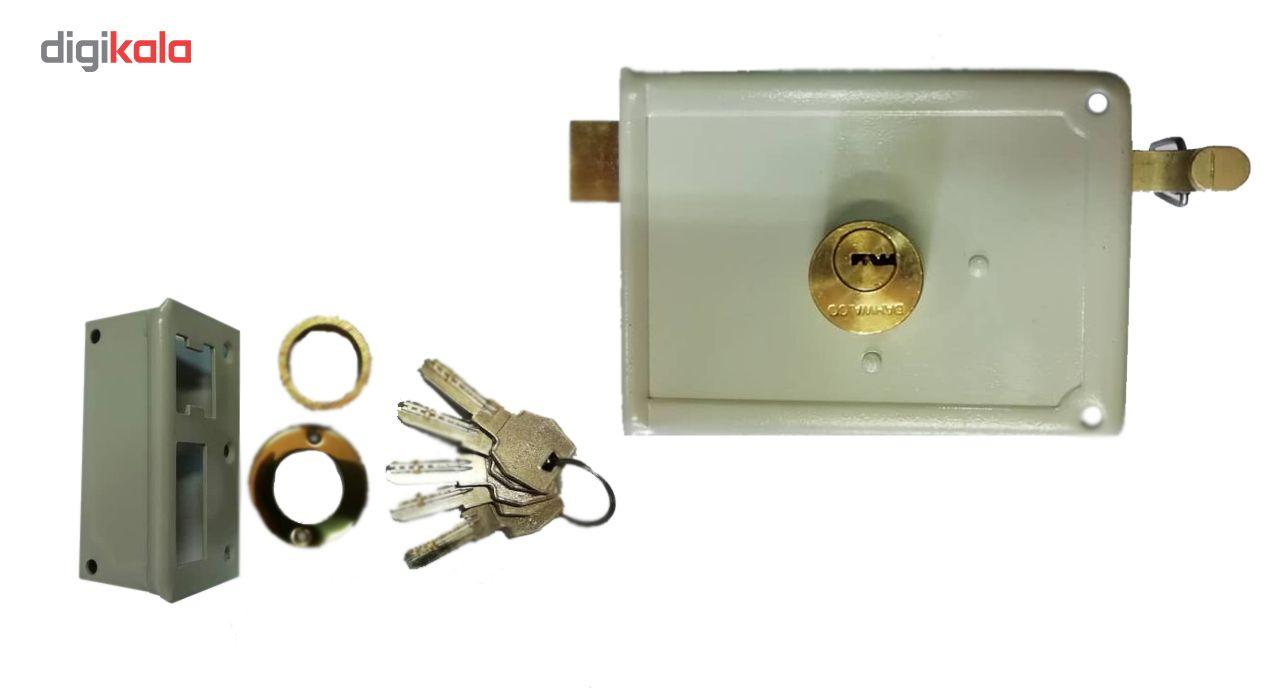 قفل در حیاطی مدل 120-630