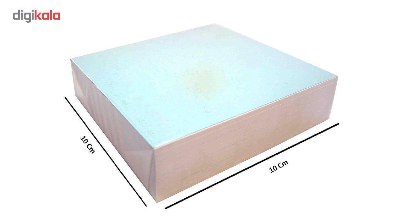 کاغذ یادداشت ساده  رایدین  سایز 10در10  - بسته 1400 برگی main 1 1