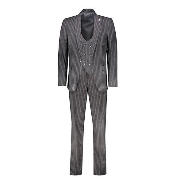 کت و شلوار مردانه مدل Schon Mann fastoni Gray w | Schon mann mans suit model Fastoni Gray