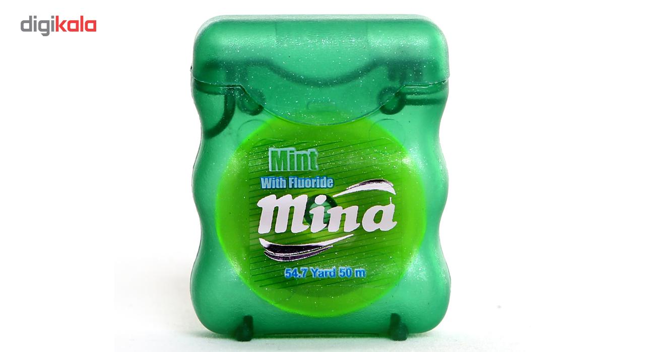 نخ دندان مینا مدل Mint Narrow