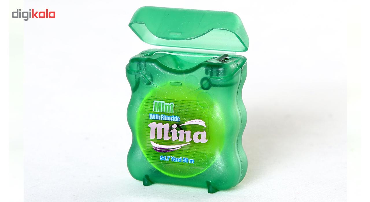 نخ دندان مینا مدل Mint Narrow main 1 2