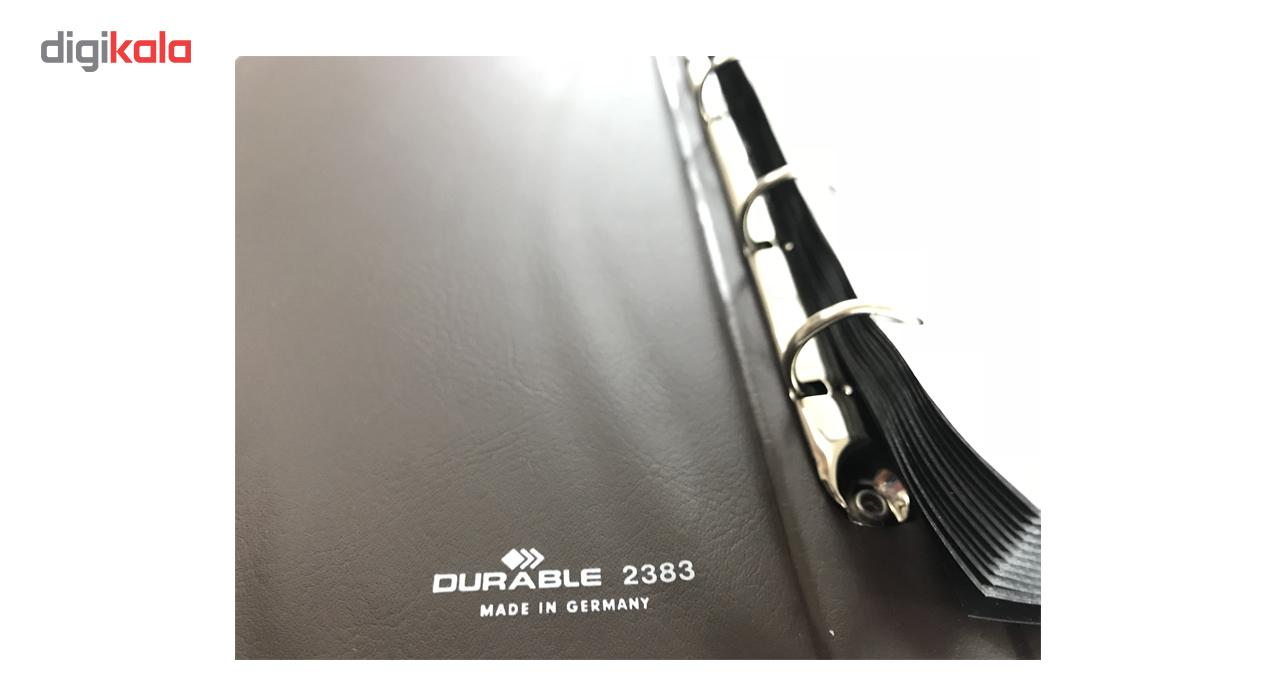 نگهدارنده کارت ویزیت کلاسوری 200 عددی دورابل مدل 2383