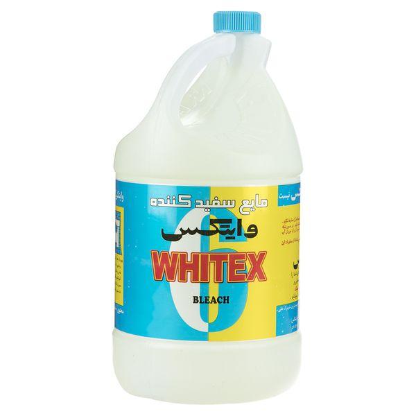 مایع سفید کننده وایتکس مقدار 4000 گرم