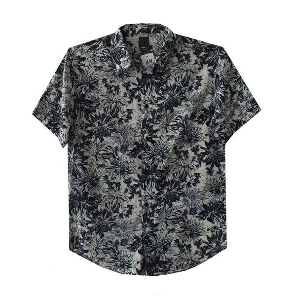 پیراهن آستین کوتاه مردانه اچ اند امکد 0988