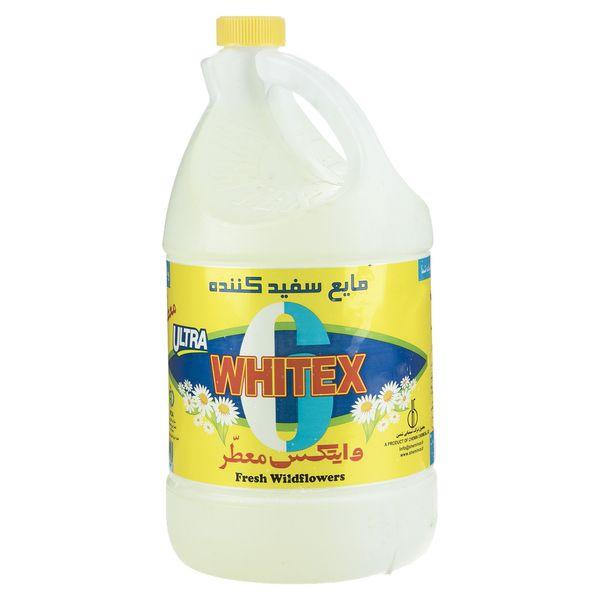 مایع سفید کننده معطر وایتکس مدل Fresh Wild Flowers مقدار 4000 گرم | Whitex Fresh Wild Flowers Aromatic Bleaching Liquid 4000g