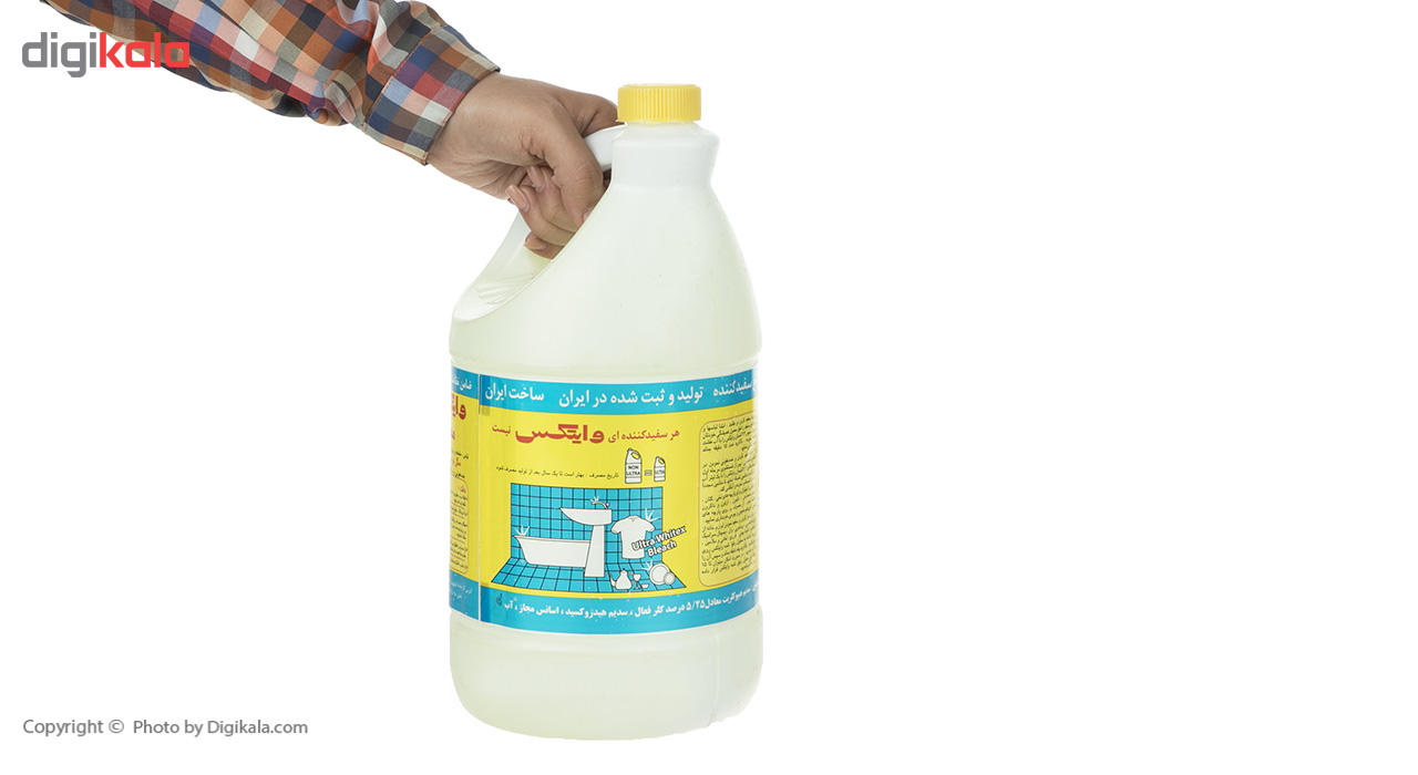 مایع سفید کننده معطر وایتکس مدل Fresh Wild Flowers مقدار 4000 گرم main 1 4