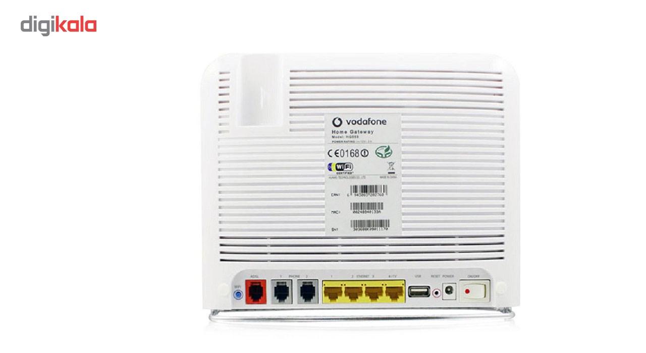 مودم 3.5G ودافون مدل Station به همراه مودم USB هوآوی E3531
