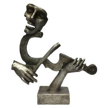 مجسمه طرح نوازنده ویالن کد 1022