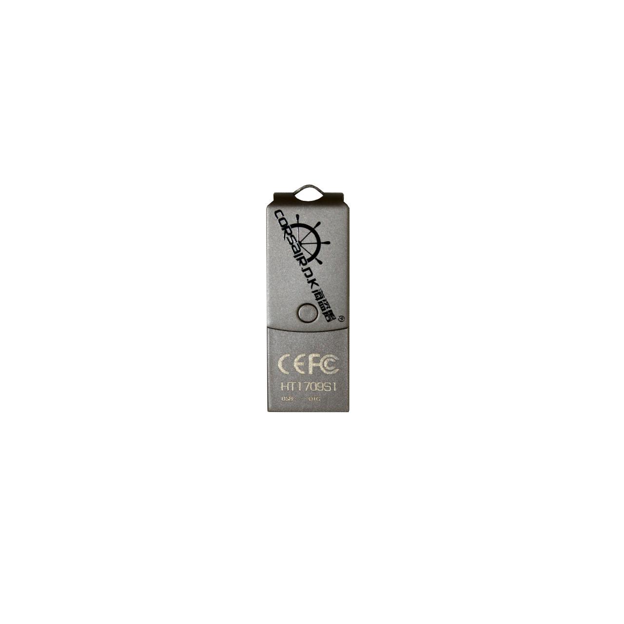 فلش مموری USB 2.0 OTG کرسیر دی کی مدل HT1807S1 ظرفیت 32 گیگابایت