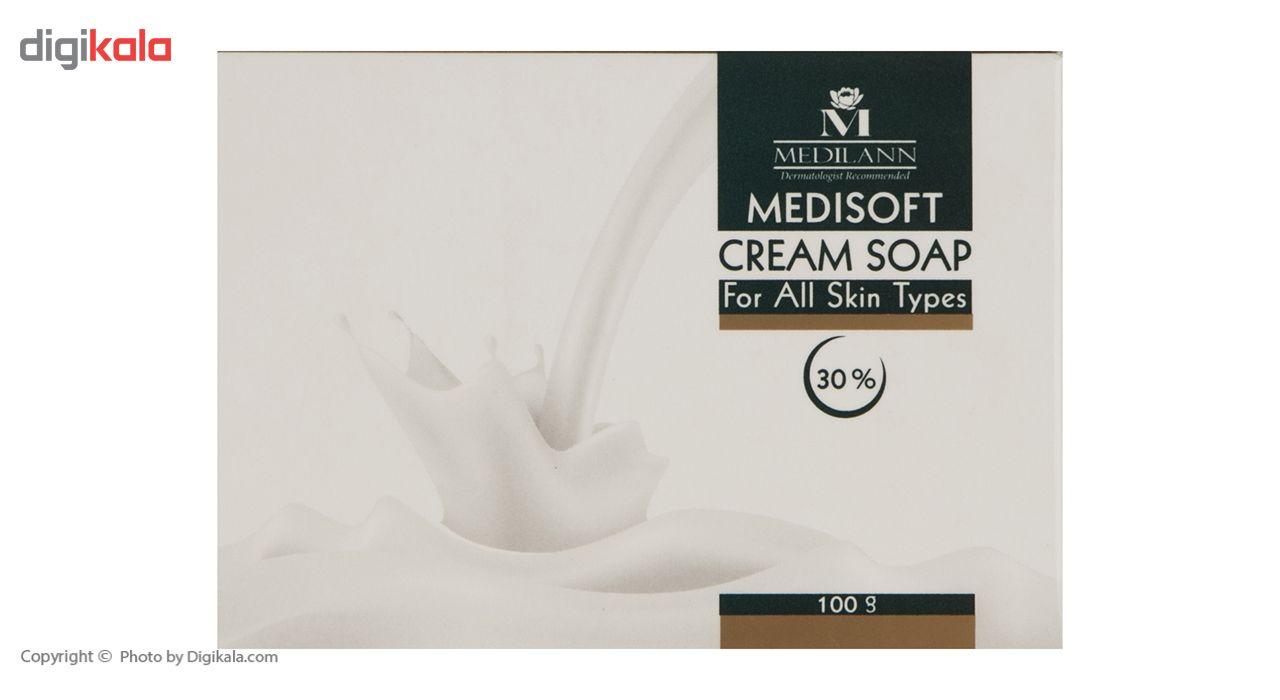 صابون کرمی مدیلن مدل Medisoft 30% مقدار 100 گرم main 1 2