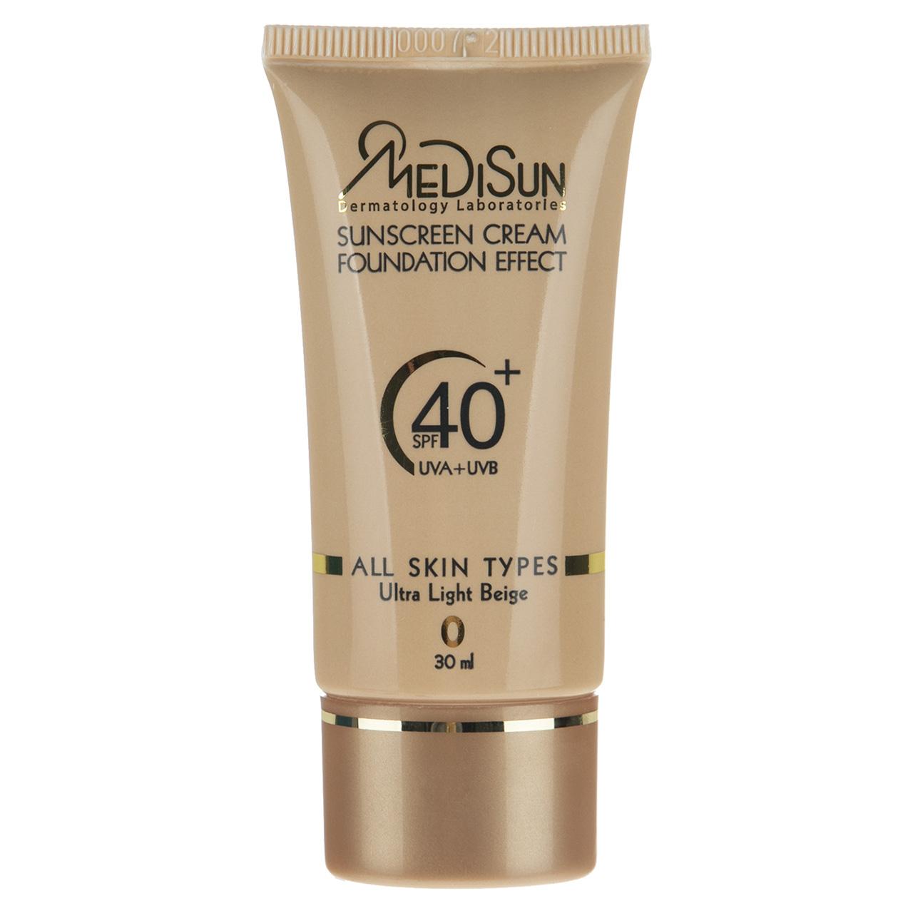 قیمت کرم ضد آفتاب مدیسان سری All Skin مدل Light Beige حجم 30 میلی لیتر