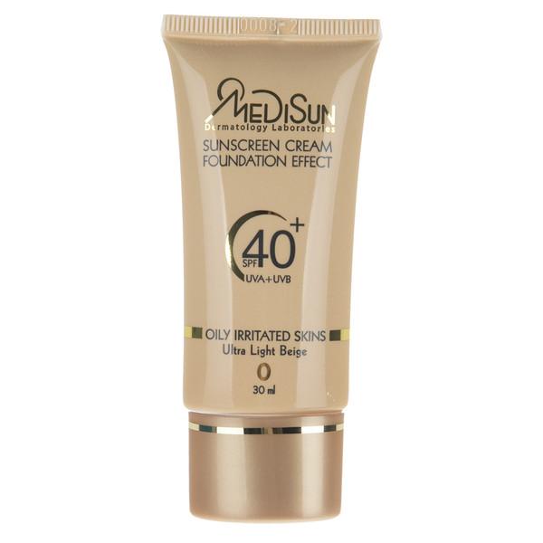کرم ضد آفتاب مدیسان سری Oily Skin حجم 30 میلی لیتر