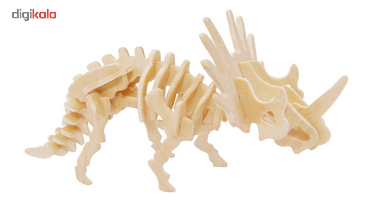 پازل چوبی سه بعدی مدل دایناسور