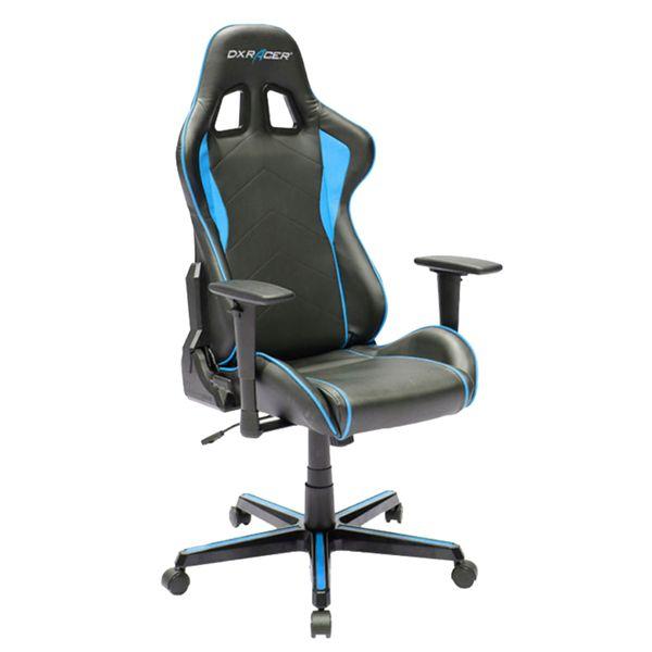 صندلی گیمینگ دی ایکس ریسر سری فرمولا مدل OH/FH08/NB چرمی | Dxracer Formula Series OH/FH08/NB Gaming Chair