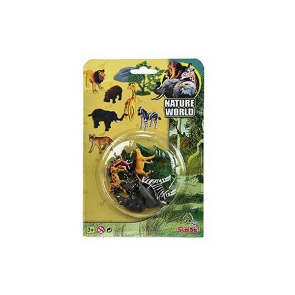ست باغ وحش سیمبا مدل Nature World کد 1202