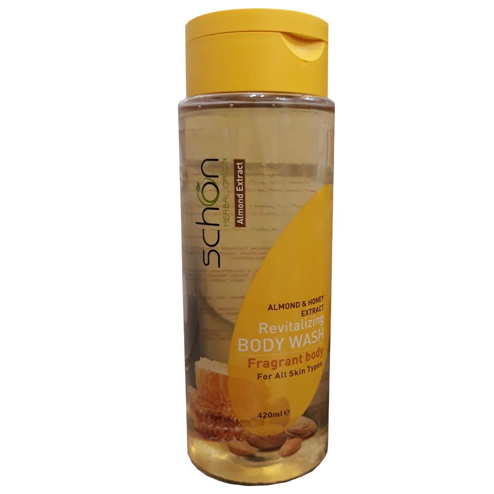 قیمت شامپو بدن شون مدل Almond And Honey حجم 420 میلی لیتر