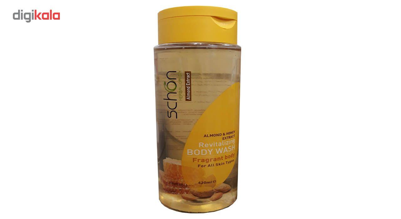شامپو بدن شون مدل Almond And Honey حجم 420 میلی لیتر main 1 1