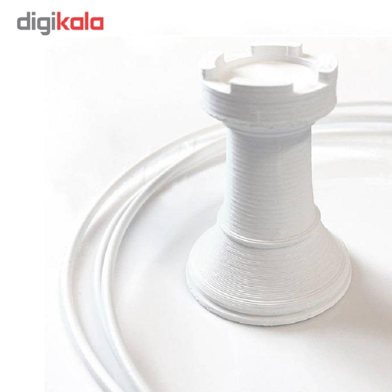 قیمت                      فیلامنت پرینتر سه بعدی مدل ABS سفید قطر 1.75 میلیمتر 400 گرم