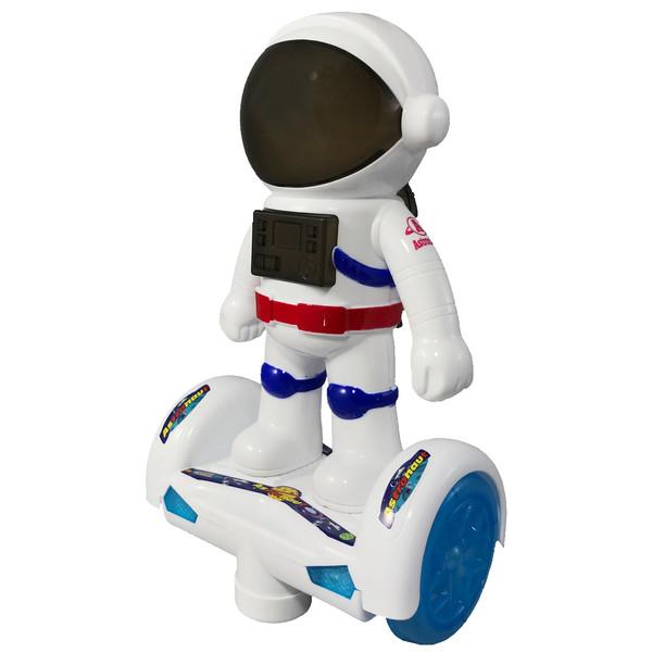 ربات موزیکال اسكوتر سوار  مدل آدم فضایی کد 100