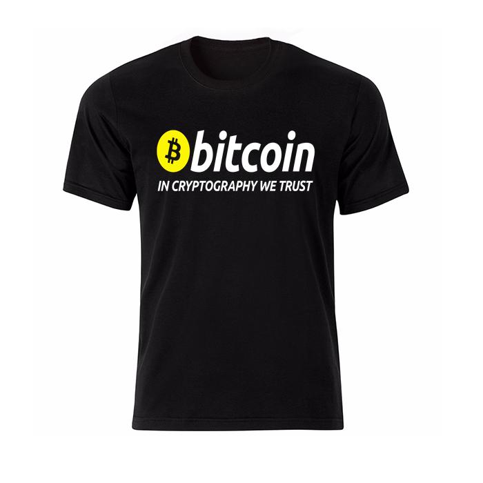 تی شرت مردانه طرح بیت کوین کد BWY13273
