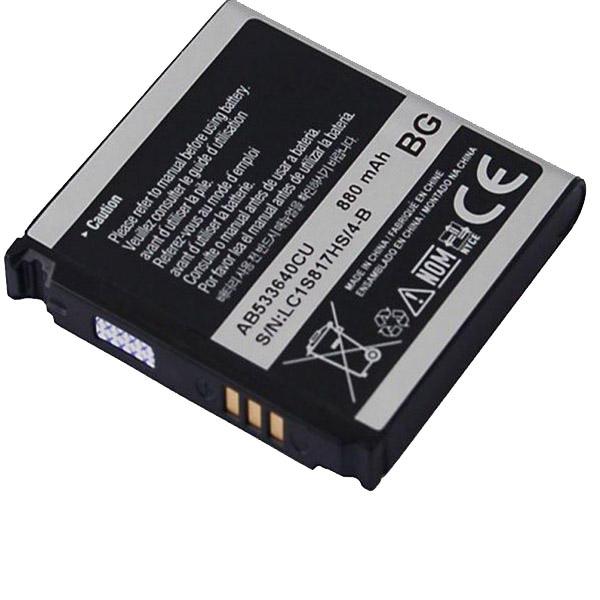 باتری موبایل سامسونگ مدل AB533640CU با ظرفیت 800mAh مناسب برای گوشی موبایل سامسونگ s3600