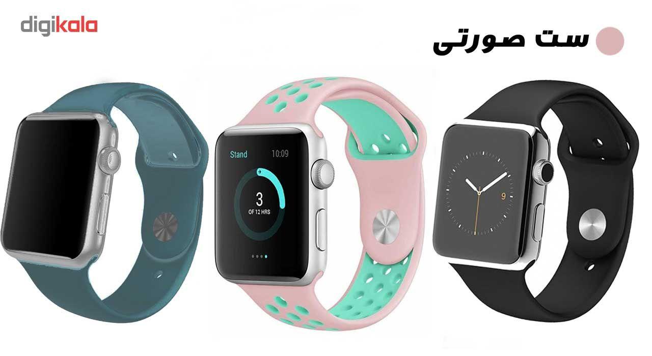 ساعت هوشمند مدل  iWO-s  همراه دو بند اضافه نایک و محافظ صفحه نمایش و بگ شیدتگ main 1 21