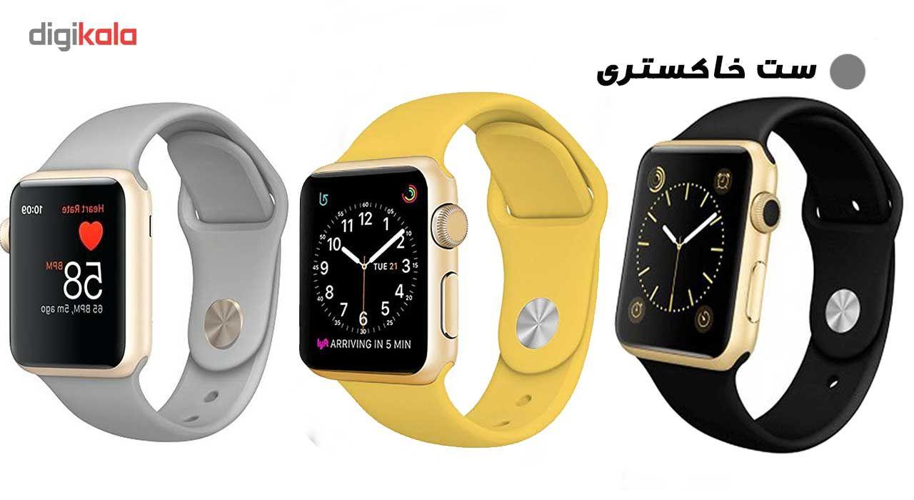 ساعت هوشمند مدل  iWO-s  همراه دو بند اضافه نایک و محافظ صفحه نمایش و بگ شیدتگ main 1 17