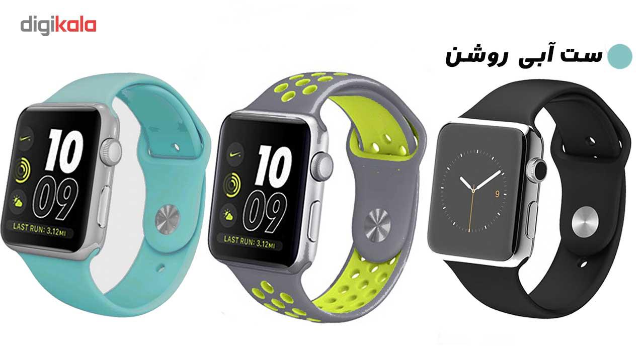 ساعت هوشمند مدل  iWO-s  همراه دو بند اضافه نایک و محافظ صفحه نمایش و بگ شیدتگ main 1 20