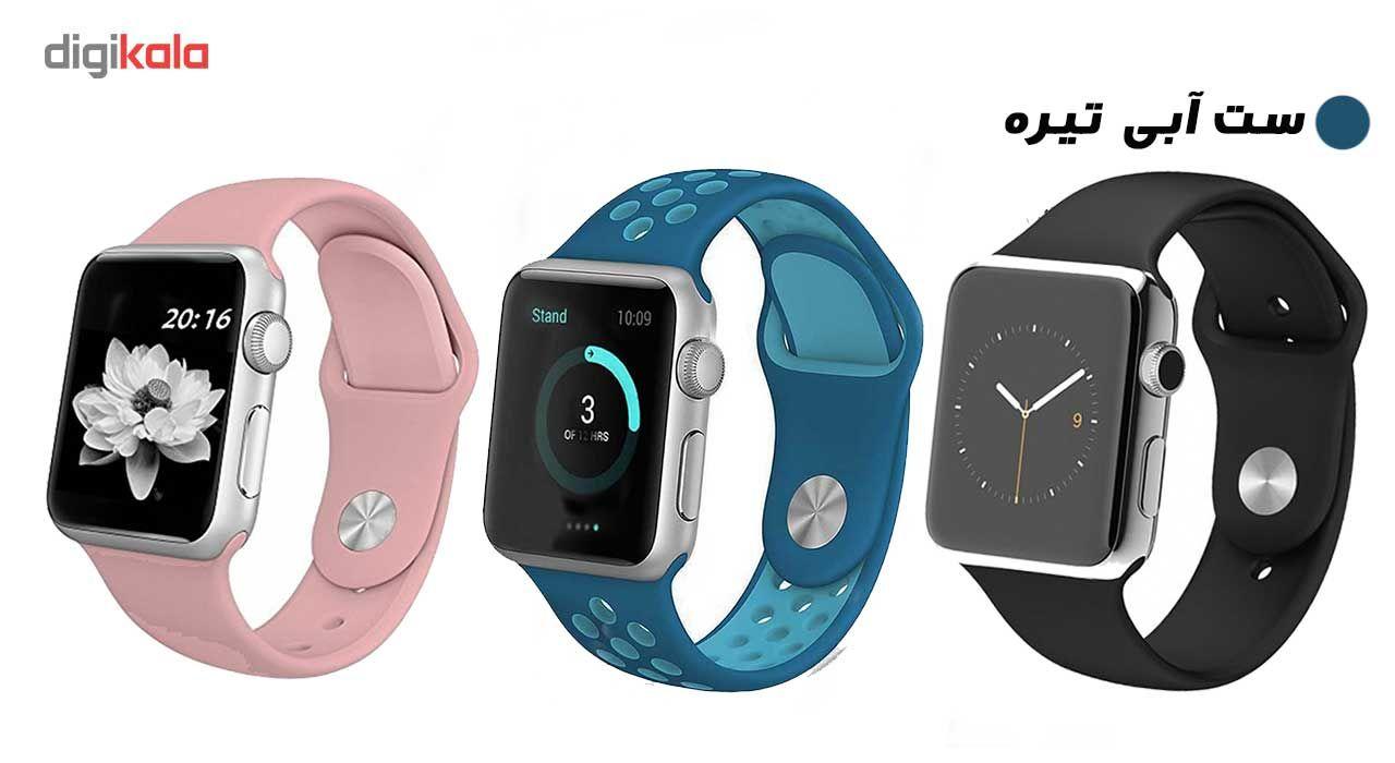 ساعت هوشمند مدل  iWO-s  همراه دو بند اضافه نایک و محافظ صفحه نمایش و بگ شیدتگ main 1 1