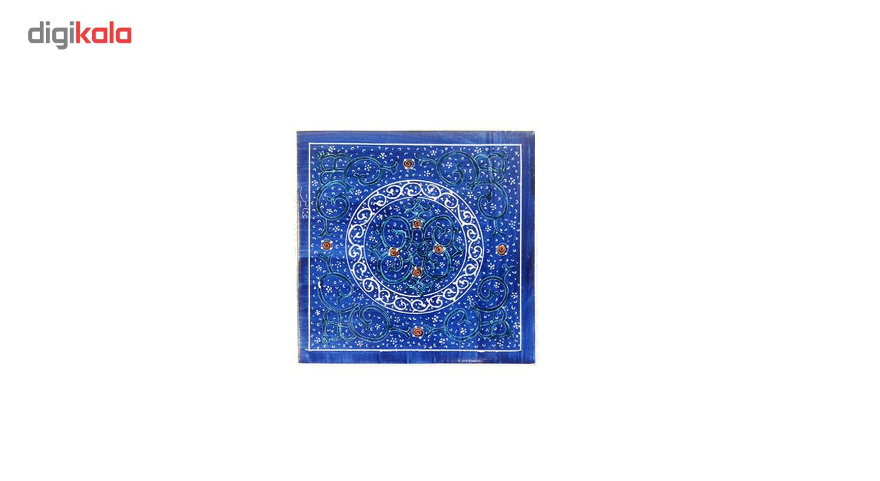 خرید                      کاشی طرح میناکاری لوح هنر کد 497