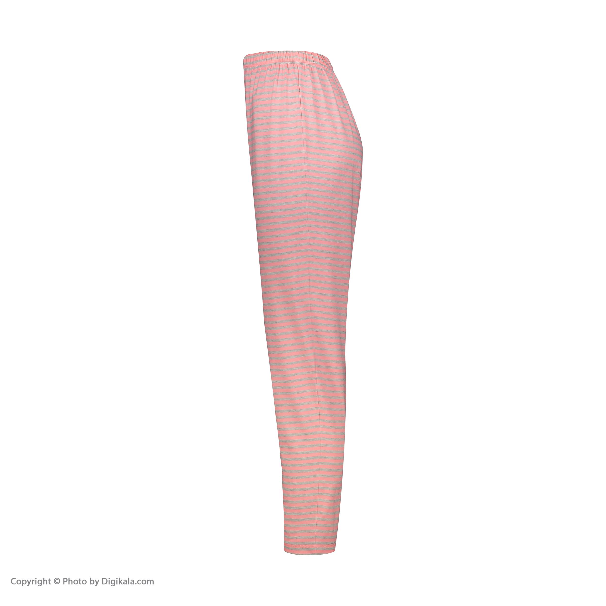 ست تی شرت و شلوار زنانه فمیلی ور طرح دخترکد 0224 -  - 4
