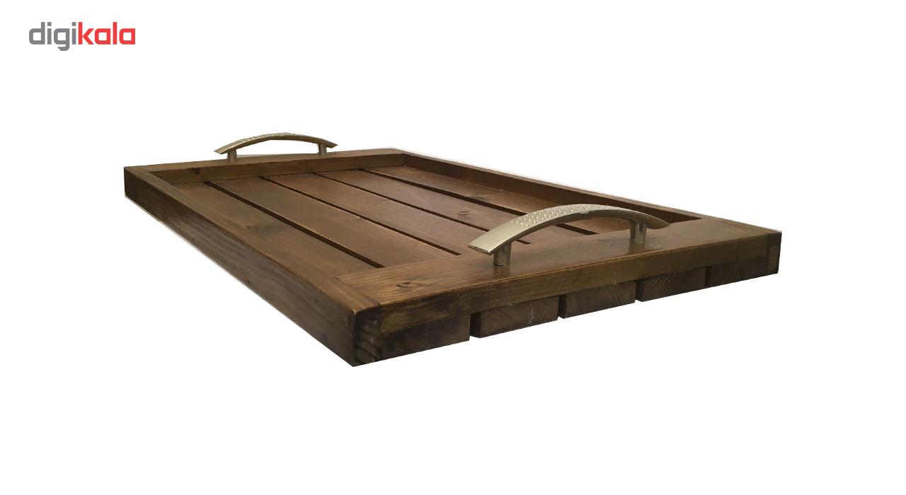 سینی چوبی آرونی مدل bevis