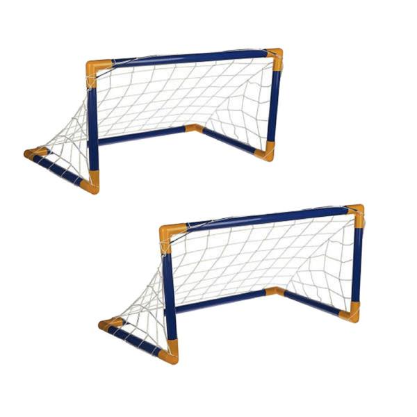 دروازه بازی فوتبال مدل SOCCER Goal Set بسته 2 عددی